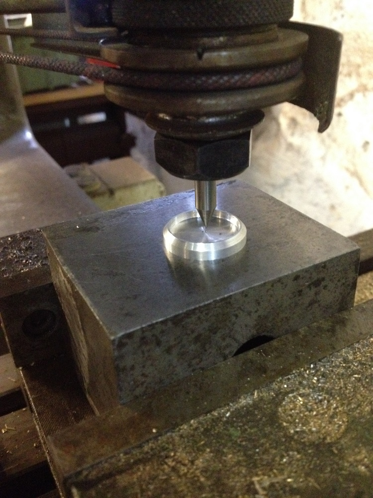 Behind the Scenes: Engraving a Levenaig watch dial using a Friedrich Deckel pantograph engraver.