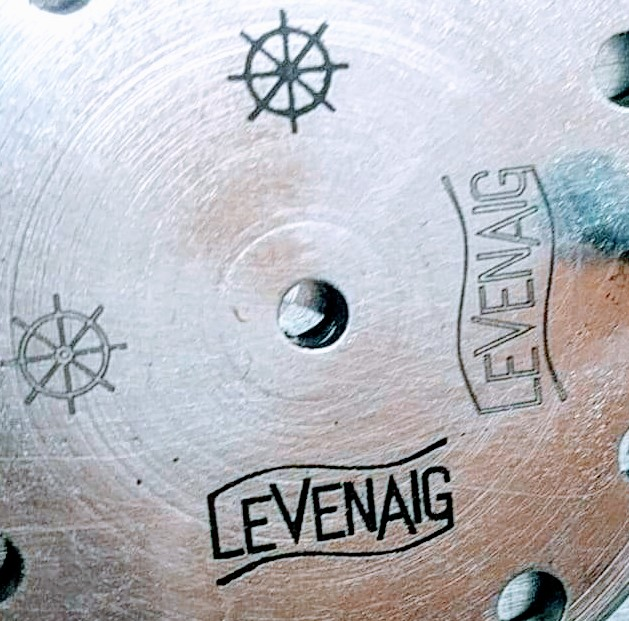 Behind the Scenes: Levenaig Watches dial with logo engraved by laser